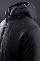 Warm cotton clothes L black