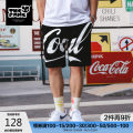 Casual pants THE PANG Youth fashion Black green 38 40 42 44 46 routine Shorts (up to knee) Other leisure easy Micro bomb summer Large size Youthful vigor 2020 middle-waisted Straight cylinder Cotton 83.6% polyester 16.4% Sports pants Alphanumeric other Summer 2020 Pure e-commerce (online only)