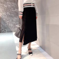 skirt Summer 2021 Mid length dress commute Natural waist High waist skirt Solid color Type H 5200258-2062811-001 71% (inclusive) - 80% (inclusive) Brother amashsin Cellulose acetate Asymmetry Korean version 1 = XS, 2 = s, 3 = m, 4 = L, 5 = XL Black, orange
