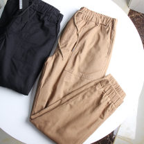Casual pants Others Fashion City Black, khaki trousers Travel? easy