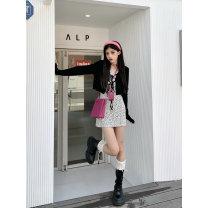 Dress Summer 2021 XS,S,M,L,XL Short skirt singleton  Sleeveless commute Socket camisole 18-24 years old Ruko Hang Korean version printing