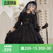 Lolita Dress Jsk / black, jsk / white S,M,L,XL goods in stock Brocade Garden polyester fiber