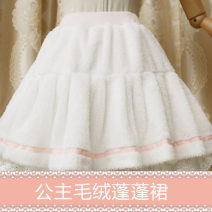 Lolita / soft girl / dress Brocade Garden Milky white Average size Unlimited season, winter, summer, spring, spring and autumn goods in stock Lolita, soft girl