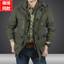 pizex male Jeep shield nylon other 201-500 yuan Winter, spring, autumn, four seasons Autumn 2021 China Single layer assault suit (2-layer laminated rubber jacket) 5001mm (inclusive) - 10000mm (inclusive) nylon Urban outdoor Medium length nothing