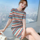 Wool knitwear Summer 2021 S,M,L,XL Picture color Short sleeve singleton  other 91% (including) - 95% (excluding) Medium length routine commute Socket Korean version 18-24 years old