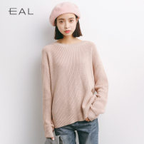Wool knitwear Autumn of 2018 Average size White, lotus root pink, baby blue acrylic fibres 51% (inclusive) - 70% (inclusive) M05 Eal