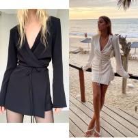 Dress Autumn 2020 Off white (spot non market goods), black (spot non market goods) XS,S,M,L