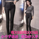 Leggings Winter 2020 Black velvet Xs, s, m, l, XL, XXL, XXS genuine small 145-155 Plush trousers K4801 18-24 years old Zhenyaluo polyester 96% and above