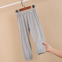 Home Pants / pajamas 90, 100, 110, 120, 130, 140, 150, 160 Other / other Modal fiber (modal) 95% polyurethane elastic fiber (spandex) 5% neutral summer other Class A Expel dampness and absorb sweat at home