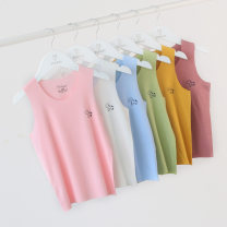 Vest sling Sleeveless 90, 100, 110, 120, 130, 140, 150, 160 No season other neutral No model leisure time Solid color Crew neck nothing other Modal fiber (modal) 90% polyurethane elastic fiber (spandex) 10% Class A Chinese Mainland Shandong Province Qingdao
