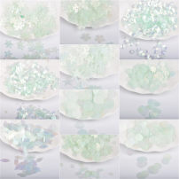 Other DIY accessories Other accessories other RMB 1.00-9.99 brand new Fresh out of the oven Other / other Blue green high quality sequins Spring and summer 2017