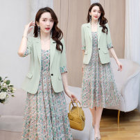 Fashion suit Summer 2020 M,L,XL,XXL Black, pink, fruit green Other / other LSNY2008