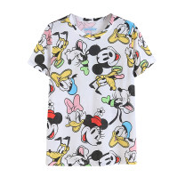T-shirt Picture color S,M,L,XL Short sleeve Crew neck Regular routine commute other 30% and below Korean version Cartoon animation