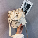 Bag The single shoulder bag Artificial leather Bucket bag Fawn heart White, black, green, pink brand new European and American fashion Small leisure time soft Buckle no Solid color Single root Single shoulder nothing youth Bucket shaped Lace Handling handle mobile phone bag