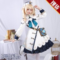 Cosplay women's wear suit Pre sale Over 14 years old Regular price (without deposit) game L,M,S,XL Three point delusion Chinese Mainland Original God Barbara  Pre sale