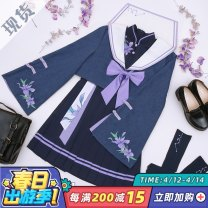 Cosplay women's wear suit Pre sale Over 14 years old Regular price (without deposit) game L,M,S,XL Three point delusion Chinese Mainland Glory of Kings JK uniform No additional order after sale