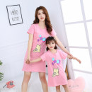 Home skirt / Nightgown Other / other 100cm,110cm,120cm,130cm,140cm,150cm,160cm,165cm Cotton 100% summer female Anti static, anti-bacterial, deodorant, moisture absorption and perspiration, at home Class B Pure cotton (100% cotton content)