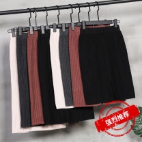 skirt Winter of 2019 F Mid length dress Versatile High waist skirt Solid color Type A 18-24 years old 51% (inclusive) - 70% (inclusive) Gemini Viscose Viscose fiber (viscose fiber) 50.6% polyester fiber 30.5% polyamide fiber (nylon) 18.9% Pure e-commerce (online only)