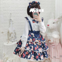 skirt Spring 2021 S,M,L,XL Short skirt Sweet High waist Cake skirt other Type A 18-24 years old A-81 71% (inclusive) - 80% (inclusive) other Eieyomi other Lolita