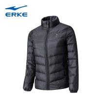 Sports down jacket It's black and foggy Erke / hongxingerke female XXL (adult), XXXL (adult), l (adult), XL (adult), s (adult), m (adult) Medium length White Velvet 90% 250g (including) - 300g (excluding) Autumn of 2019