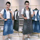 Fashion suit Spring 2021 L90-110kg, xl110-125kg, xxl125-140kg, 3xl140-155kg, 4xl155-170kg, 5xl170-185kg, 6xl185-220kg Blue, greyish black 18-25 years old 91% (inclusive) - 95% (inclusive) cotton