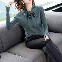 Wool knitwear Autumn 2020 S. M, l, XL, XXL, limited quantity, 39.8 yuan promotion, about to restore the original price of 58 yuan Apricot, black, coffee, grey blue Long sleeves singleton  Socket Viscose 81% (inclusive) - 90% (inclusive) Super short routine Sweet Self cultivation V-neck routine Socket