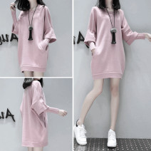 Sweater / sweater Winter of 2019 Grey, pink, black S,M,L,XL,2XL Long sleeves Medium length Socket singleton  routine Crew neck easy commute routine Solid color 18-24 years old 51% (inclusive) - 70% (inclusive) Other / other Korean version