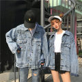 short coat Fall of 2018 M L Female money Long sleeve Long section conventional Single Loose Shirt sleeve Wild POLO collar Single-breasted Pure color