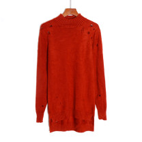 sweater Winter 2020 Average size Long sleeves Socket singleton  Regular other 51% (inclusive) - 70% (inclusive) High collar Regular commute routine Solid color Straight cylinder Regular wool