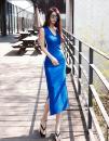 Dress Summer 2020 Blue, white, black S,M,L Mid length dress Sleeveless cotton