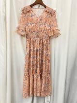 Dress Summer 2021 Pink, green M,L,XL,2XL Cool girl