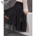 skirt Spring 2021 S M L XL black longuette commute Natural waist Little black dress Solid color Type A 25-29 years old 294824XB1034-485131 More than 95% Rococo / Rococo other Ol style Other 100% Same model in shopping mall (sold online and offline)