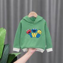 Sweater / sweater Other / other male 90cm,100cm,110cm,120cm,130cm spring and autumn No detachable cap Korean version routine other letter
