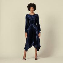 Dress Winter of 2019 blue S,M,L PATADS