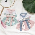 Pet clothing / raincoat currency Dress XS,S,M,L,XL,XXL Shine / shine princess Hanfu - Mint blue, Hanfu - Peach Blossom powder, Hanfu - pink, Hanfu - red, Tangzhuang - pink, Tangzhuang - red