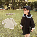 Dress Black, beige female Yoehaul / youyou 73cm,80cm,90cm,100cm,110cm,120cm,130cm Other 100% spring and autumn college Long sleeves Solid color other other 12 months, 9 months, 18 months, 2 years old, 3 years old, 4 years old, 5 years old, 6 years old Chinese Mainland Zhejiang Province Huzhou City