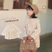 Dress Apricot, apricot (pre sale) female Yoehaul / youyou 73cm,80cm,90cm,100cm,110cm,120cm,130cm,140cm Other 100% spring and autumn Korean version Long sleeves Solid color other other 12 months, 6 months, 9 months, 18 months, 2 years old, 3 years old, 4 years old, 5 years old, 6 years old Huzhou City