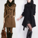 woolen coat Winter 2020 M,L,XL,XXL,XXXL,XXXXL,XXXXXL Black, camel Cashmere 31% (inclusive) - 50% (inclusive) Long sleeves Frenulum Solid color