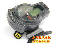 Motorcycle instrument Haojiang The common instrument covers the European instrument ABS version Six hundred Odometer tachometer water temperature meter