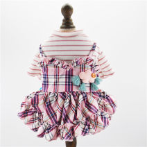 Pet clothing / raincoat currency Dress XS [within 3 kg recommended], s [within 5 kg recommended], m [within 8 kg recommended], l [within 10 kg recommended], XL [within 14 kg recommended] Fun of pets leisure time Pink, blue