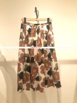 skirt Summer 2021 155/60A,160/64A,165/68A,170/72A Mid length dress Versatile Natural waist Pleated skirt Decor More than 95% brocade cotton pocket
