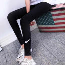 Leggings Summer 2020 Black quick drying, 5 points S,M,L,XL routine trousers 18-24 years old nylon 31% (inclusive) - 50% (inclusive)