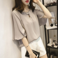 Women's large Summer of 2019 Large XL, large XXL, large XXL, large XXXXL, large L, large M T-shirt singleton  commute easy thin Socket Short sleeve Korean version have cash less than that is registered in the accounts Other / other