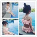 Bathing suit 80 (height 70-80cm) 90 (height 80-95cm) 100 (height 95-105cm) 110 (height 105-115cm) 120 (height 115-125cm) Other 100% Pink white Other / other female Children's split swimsuit