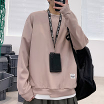 Sweater Fashion City Kacelsy Bean green pink army green white black blue XXL XXXL M L XL Solid color Socket routine Crew neck autumn easy leisure time youth tide routine KA-914-Y6720 Polyester 95% polyurethane elastic fiber (spandex) 5% Color matching Autumn 2020 Side seam pocket