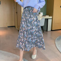 skirt Spring 2021 One size fits all, s, l, XL Blue purple Middle-skirt commute Natural waist A-line skirt Decor Type A 18-24 years old 31% (inclusive) - 50% (inclusive) Chiffon Other / other Korean version