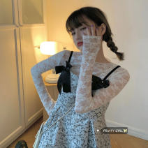 Fashion suit Spring 2021 Average size White lace, suspender skirt s, suspender skirt M 18-25 years old