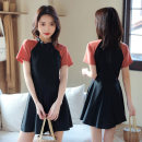one piece  other S [recommended 75-85 kg], m [recommended 85-95 kg], l [recommended 95-110 kg], XL [recommended 110-125 kg] Decor 306888, orange 306888 Skirt one piece With chest pad without steel support Polyester, others female Short sleeve Competitive swimsuit other