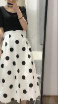 skirt Spring 2021 Average size [recommended 80-110 Jin] Apricot, milk white, light blue purple, mint light green
