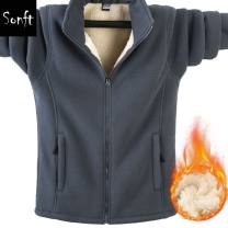 Jacket Other / other Fashion City Black, dark blue, gray, jujube red, collect + like and add shopping cart to give priority to delivery, the number of yards is small, it is recommended to buy according to the recommended size, the recommended size is loose, this style is plush and thickened easy tide